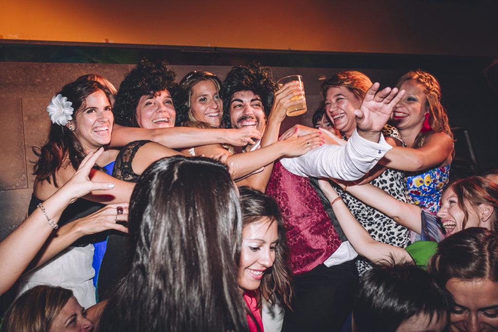 foto grupo novio chicas